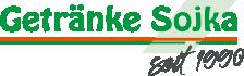 Getränke Sojka – seit 1990 Logo